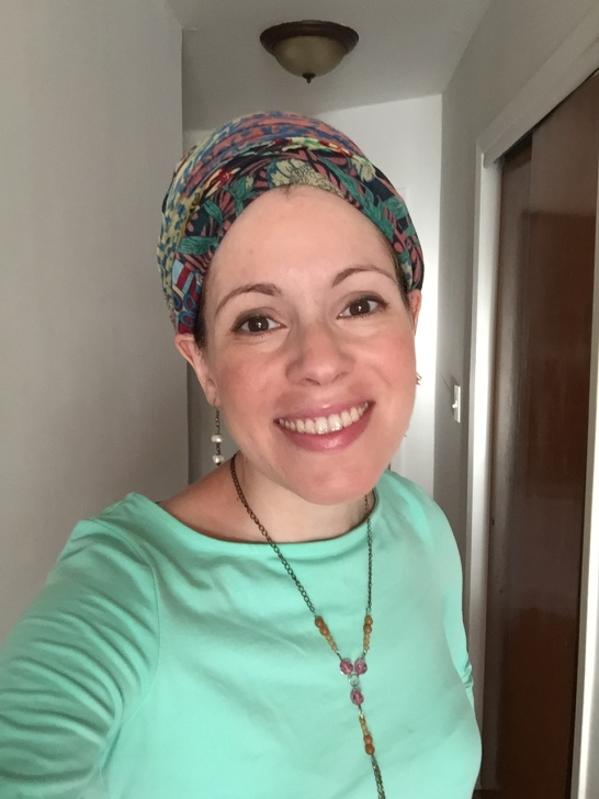 Meira in pink For our Kedoshim necklace