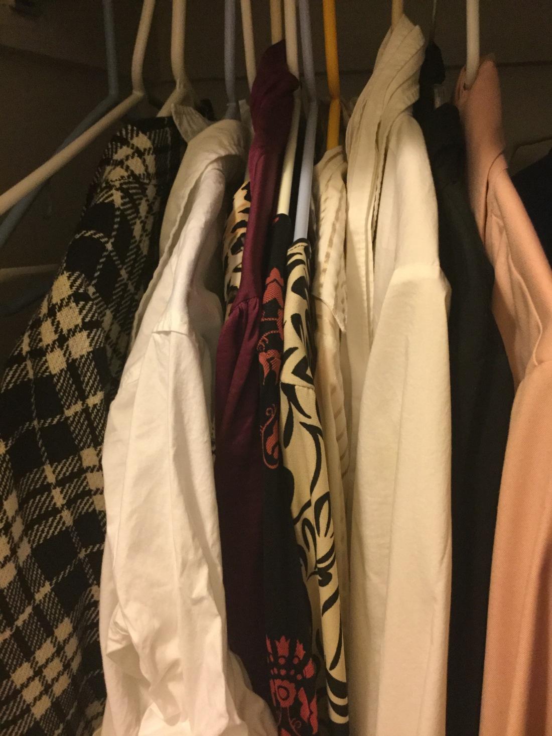 Closet- tops