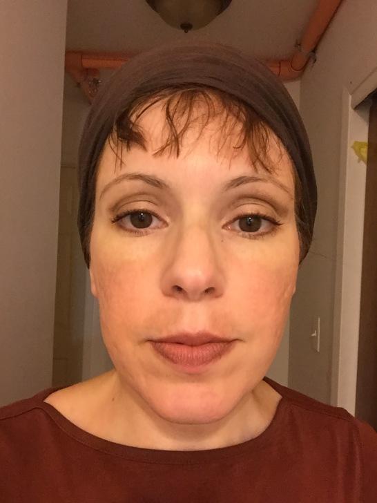 Meira in special makeup
