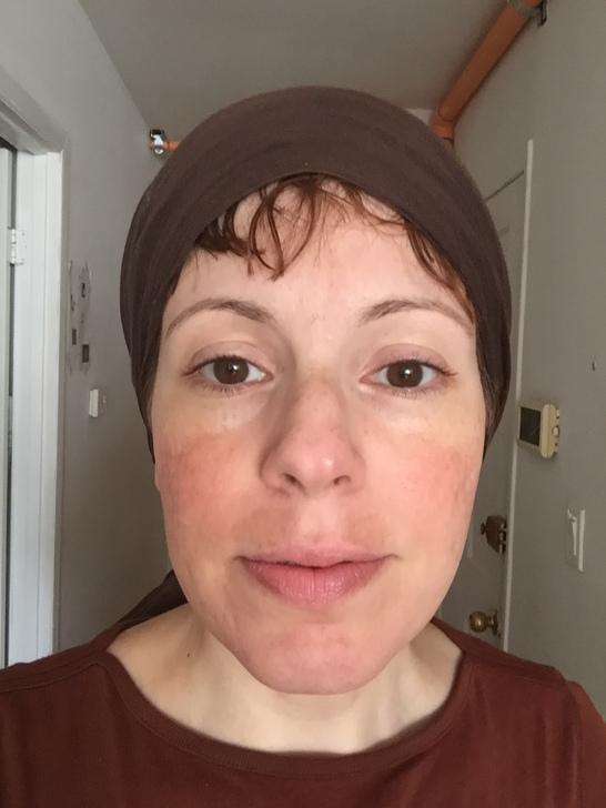 Meira with no makeup