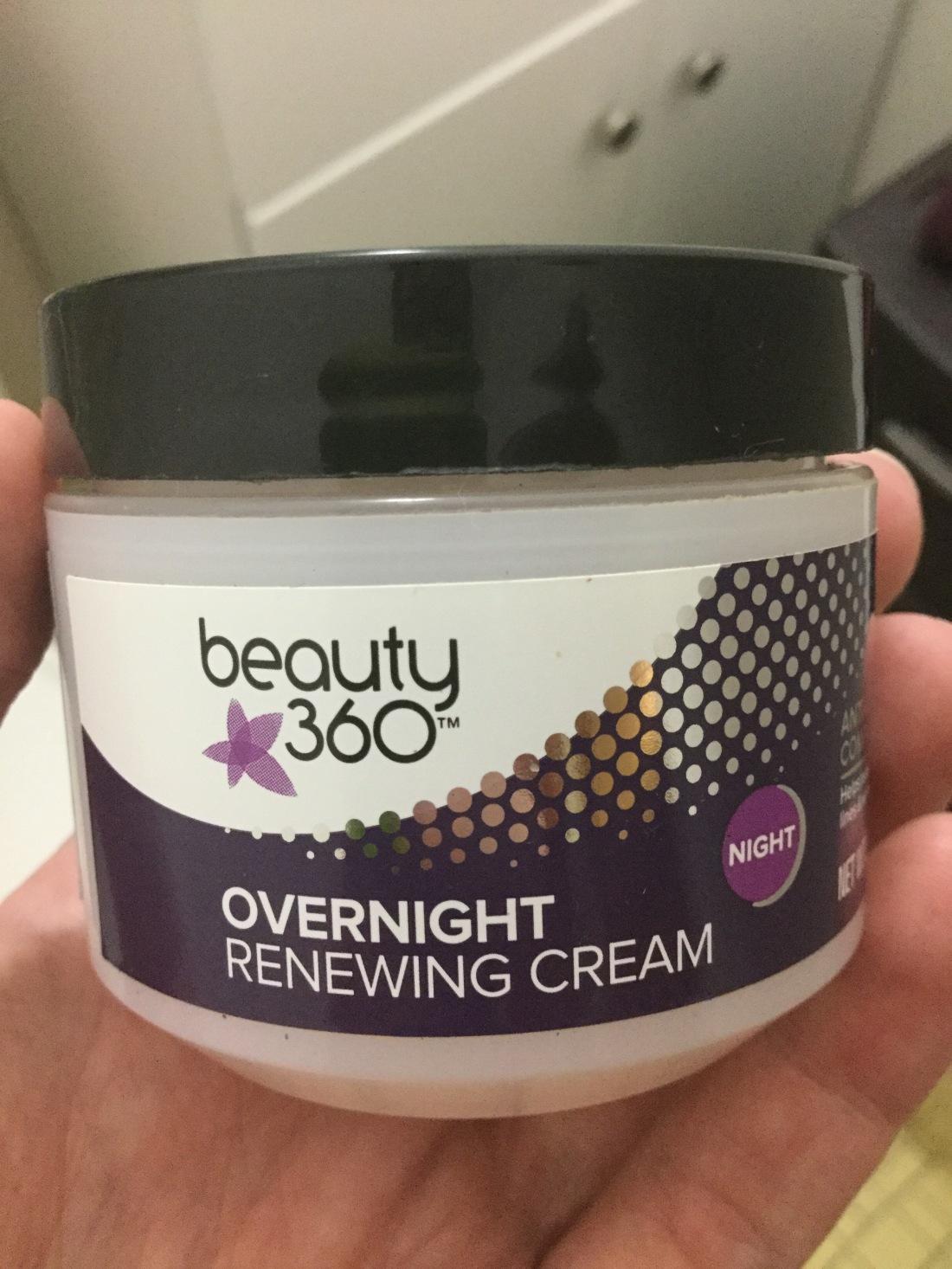 Overnight firming cream