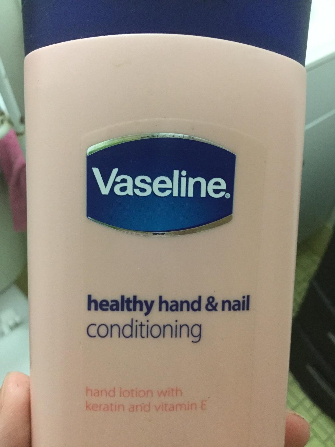 Vaseline hand lotion
